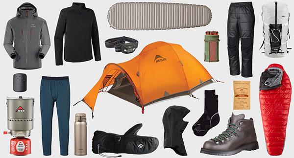 لوازم مورد نیاز برای اردوهای زمستانی