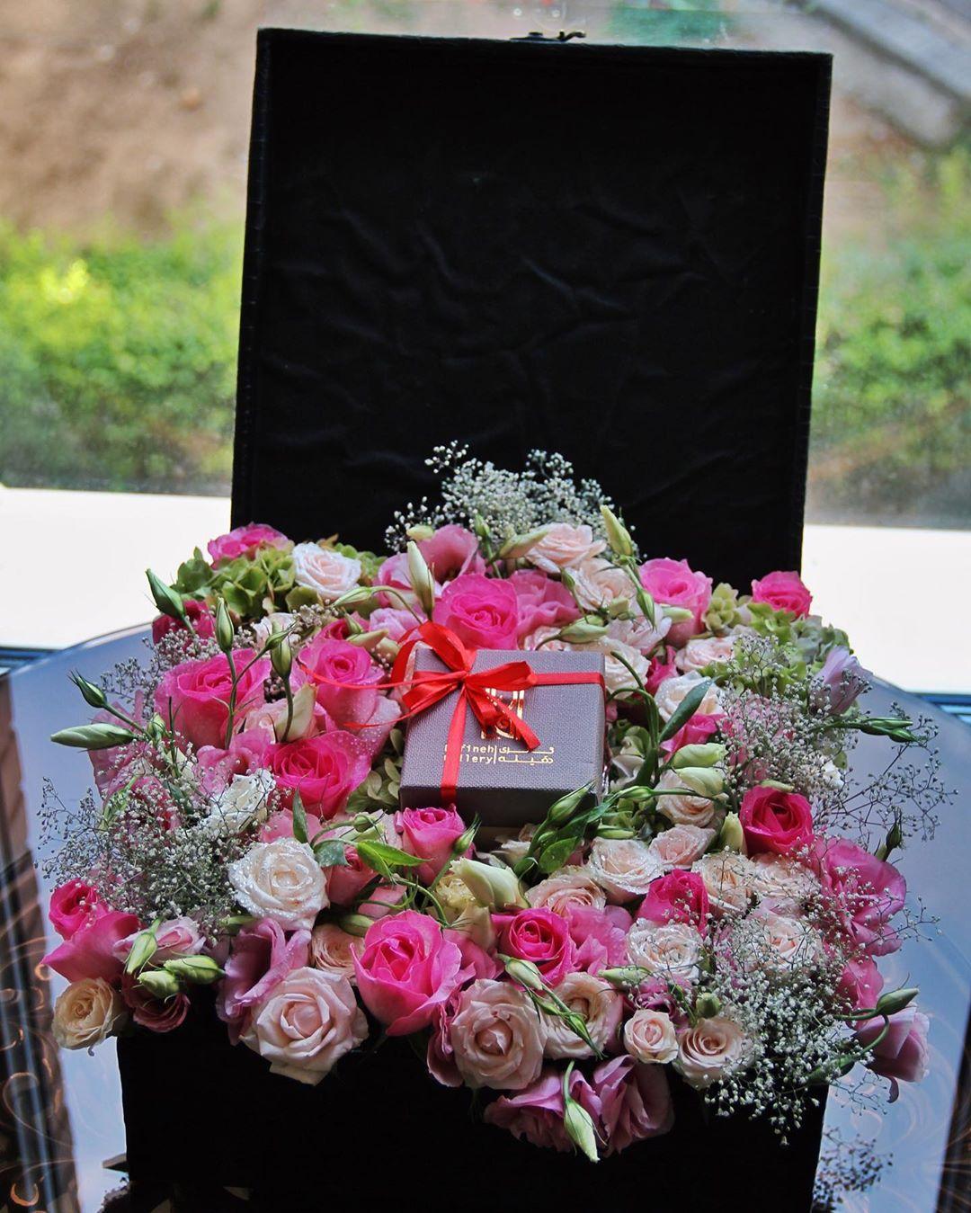 باکس گل شیک و لاکچری