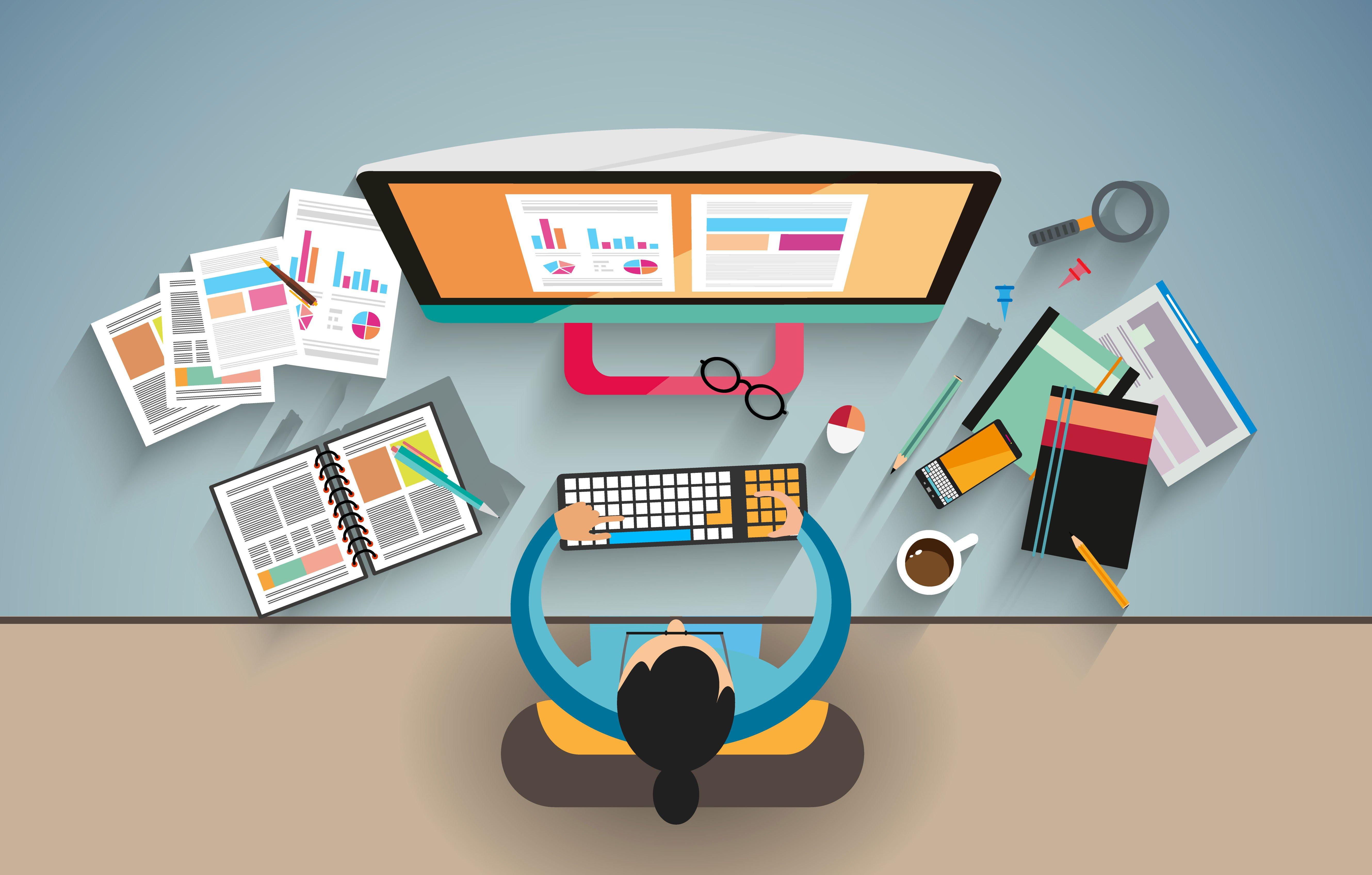 فرآیند طراحی وبسایت در ۷ مرحله ساده