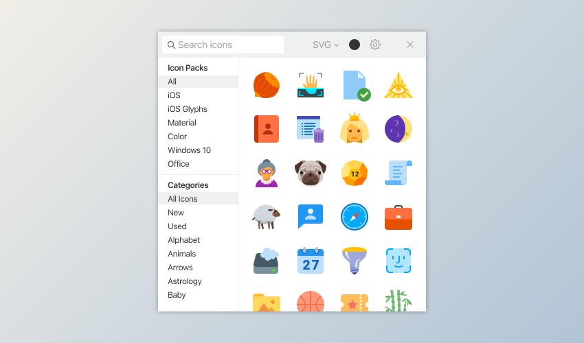 سایت Icons8