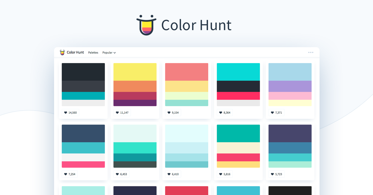 سایت Colorhunt