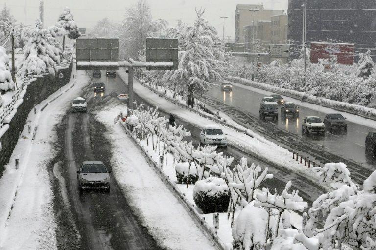 برف تهران و....