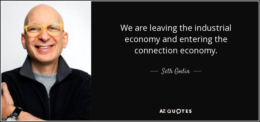 باید با خودم تکرارش کنم: «ما دیگه در دوران اقتصاد صنعتی زندگی نمیکنیم.»
