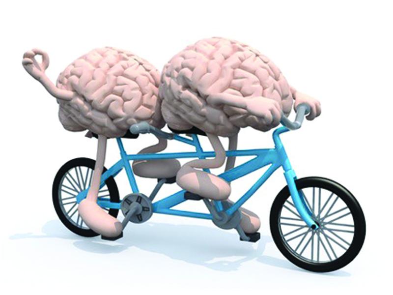 me & my brain.