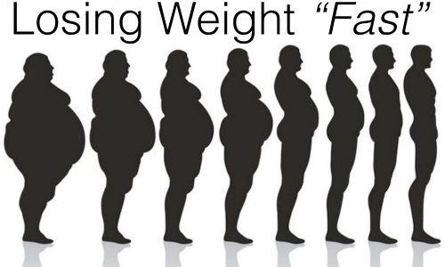 وزن خود را با سرعت کم کنیم ...