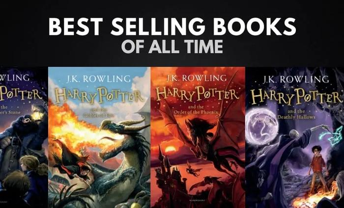 پرفروش ترین کتاب های تمام دوران