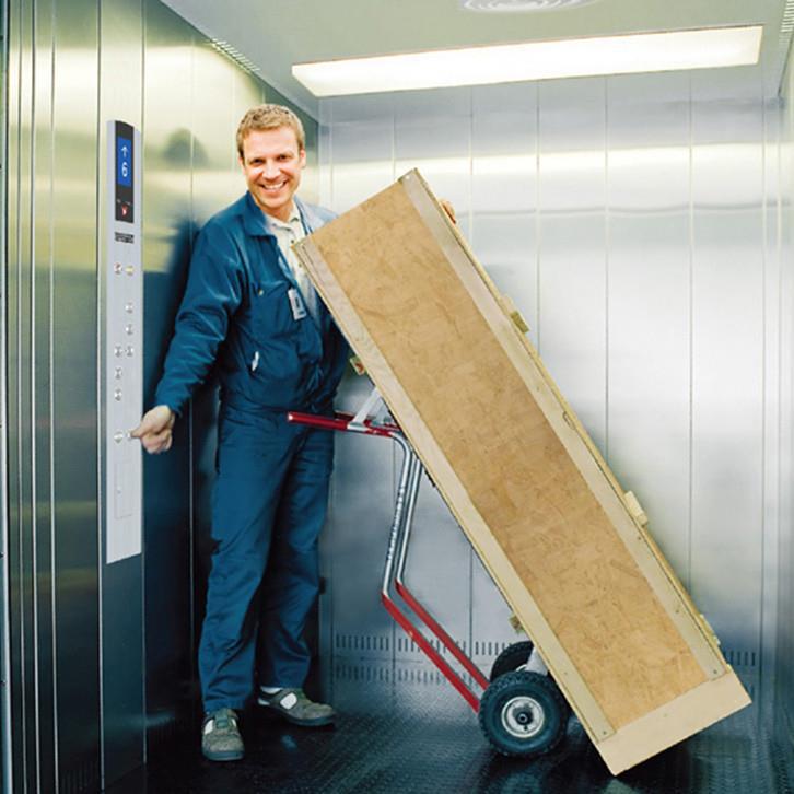 سیستم تاخیر در بسته شدن درب آسانسور، ویژگی برجسته آسانسورهای حمل بار