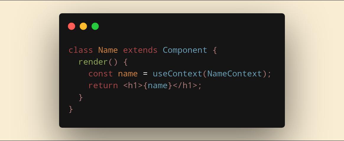 استفاده از هوک داخل Class Component!! وات؟