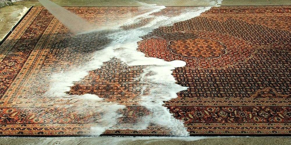 مشکلات شستشوی فرش در خانه