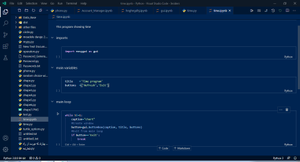 پایتونستان-مینی پروژه یک برنامه GUI-قسمت چهارم