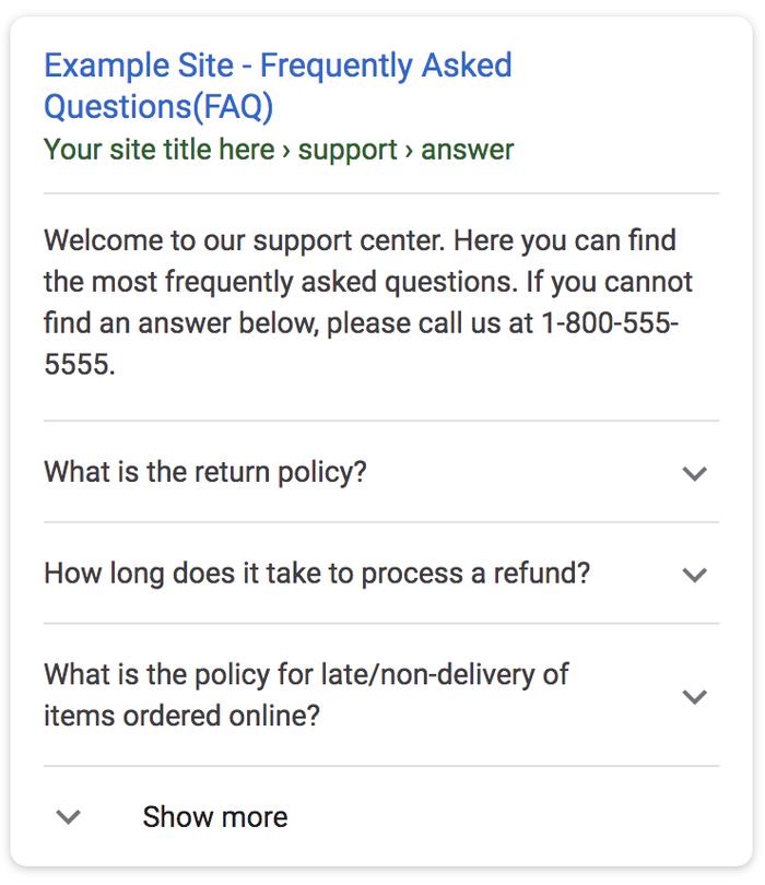 نحوه ایجاد صفحه FAQ در سئو حرفه ای