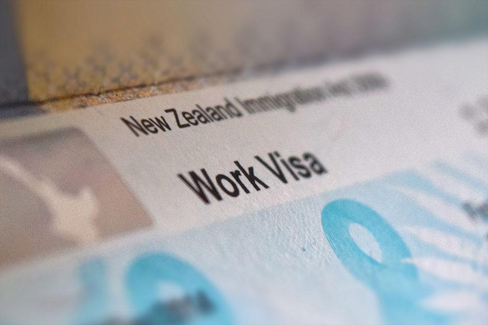 اخذ ویزای کاری نیوزلند