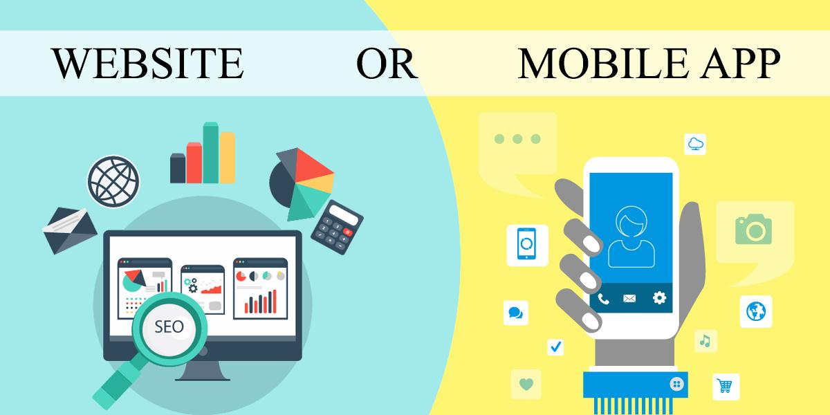 طراحی اپلیکیشن موبایل یا طراحی وب سایت