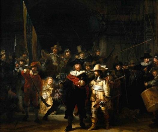 رامبرانت- گشت شبانه-1642