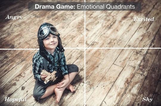 بازی نمایشی: مربعهای احساسی