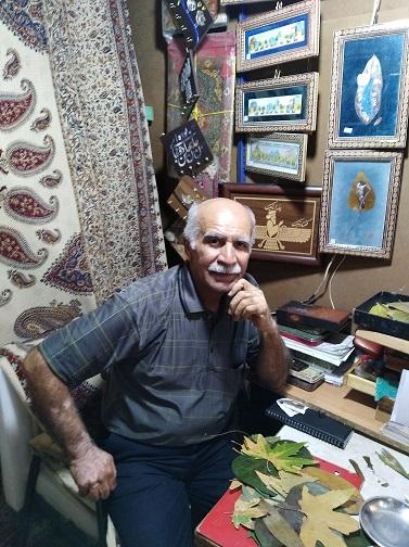 گفتگوی جمعه- استاد حسین شاهی، مینیاتوریست