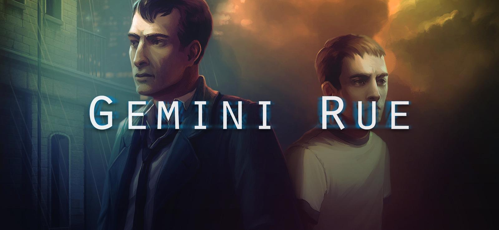 پوستر بازی جمنای رو (Gemini Rue)