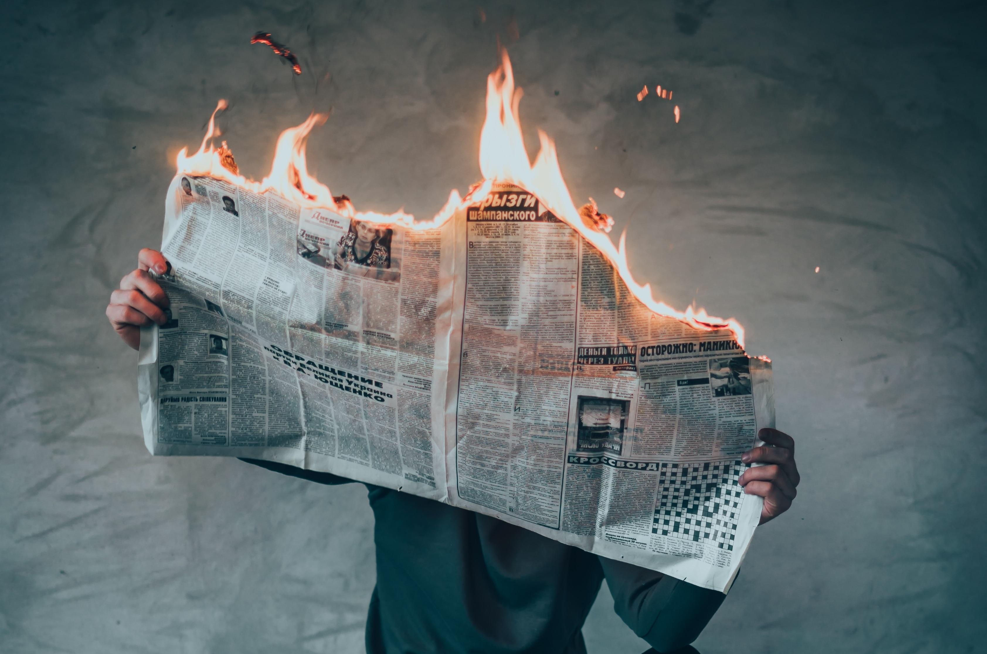 چرا اخبار را دنبال نمی کنم؟