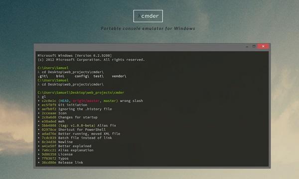 با کمک Cmder دستورات Console رو بهتر مدیریت کنید