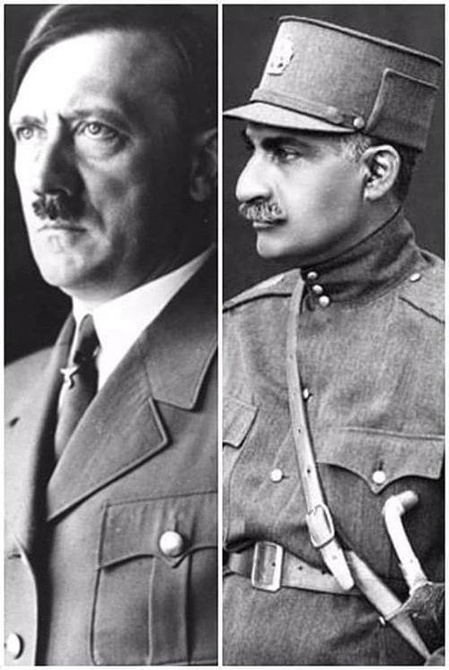 هیتلر و رضاشاه