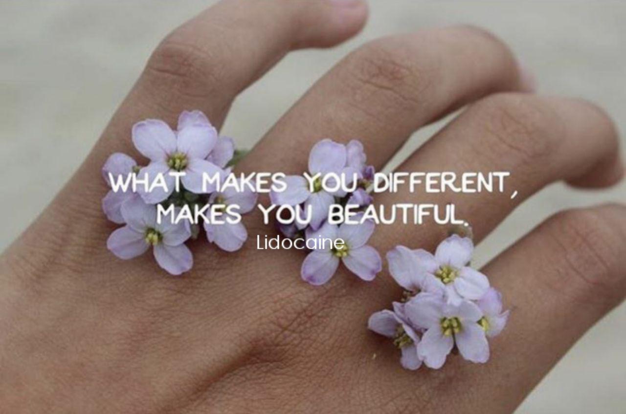 چیزی که تورو متفاوت کنه زیبات میکنه!