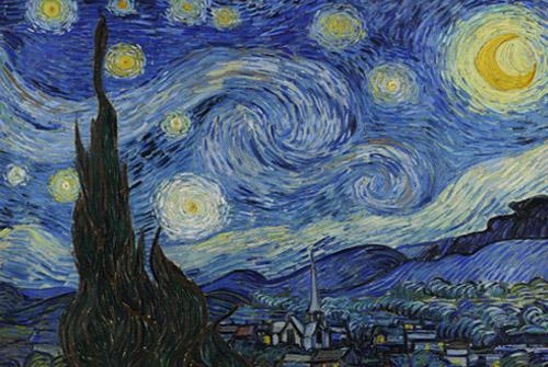 رازهای شب پر ستاره ونگوگ