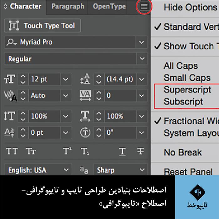 اصطلاحات بنیادین طراحی تایپ و تایپوگرافی- اصطلاح «تایپوگرافی»