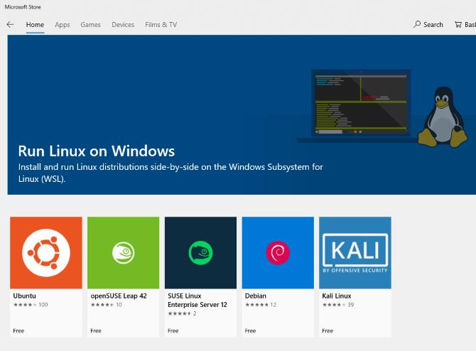 چطوری روی ویندوز 10، توزیع های مختلف لینوکس نصب کنم؟