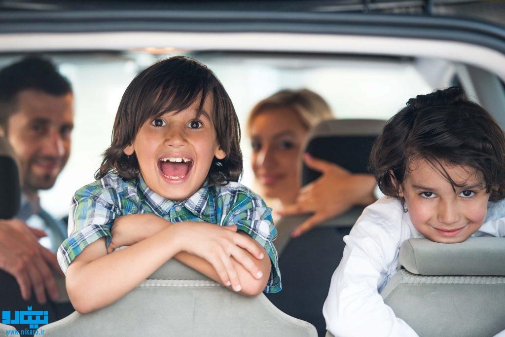 بازی هایی برای سرگرم کردن کودکان داخل ماشین