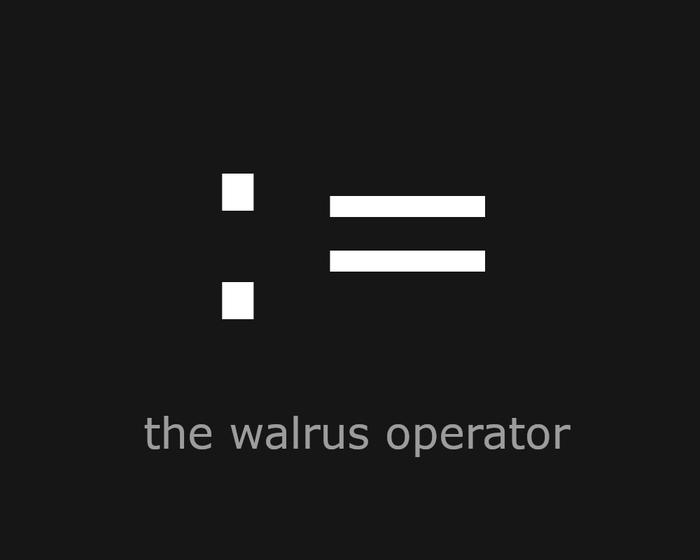 عملگر walrus در پایتون =: (walrus operator)