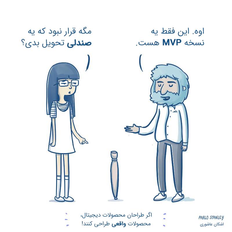 MVP: حداقل محصول پذیرفتنی