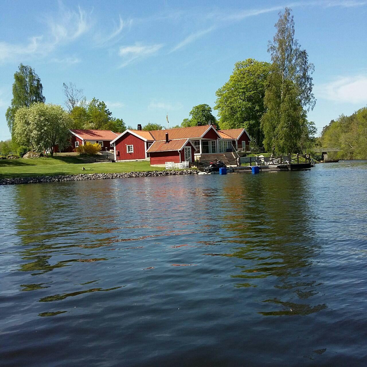 قایق سواری در سوئد