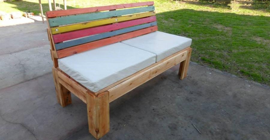 ساخت کاناپه برای فضای باز با پالت | مبلمان اداری بنکو