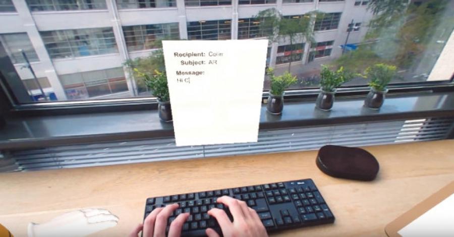 استفاده ازعینک AR به جای میز اداری در آینده ای نزدیک