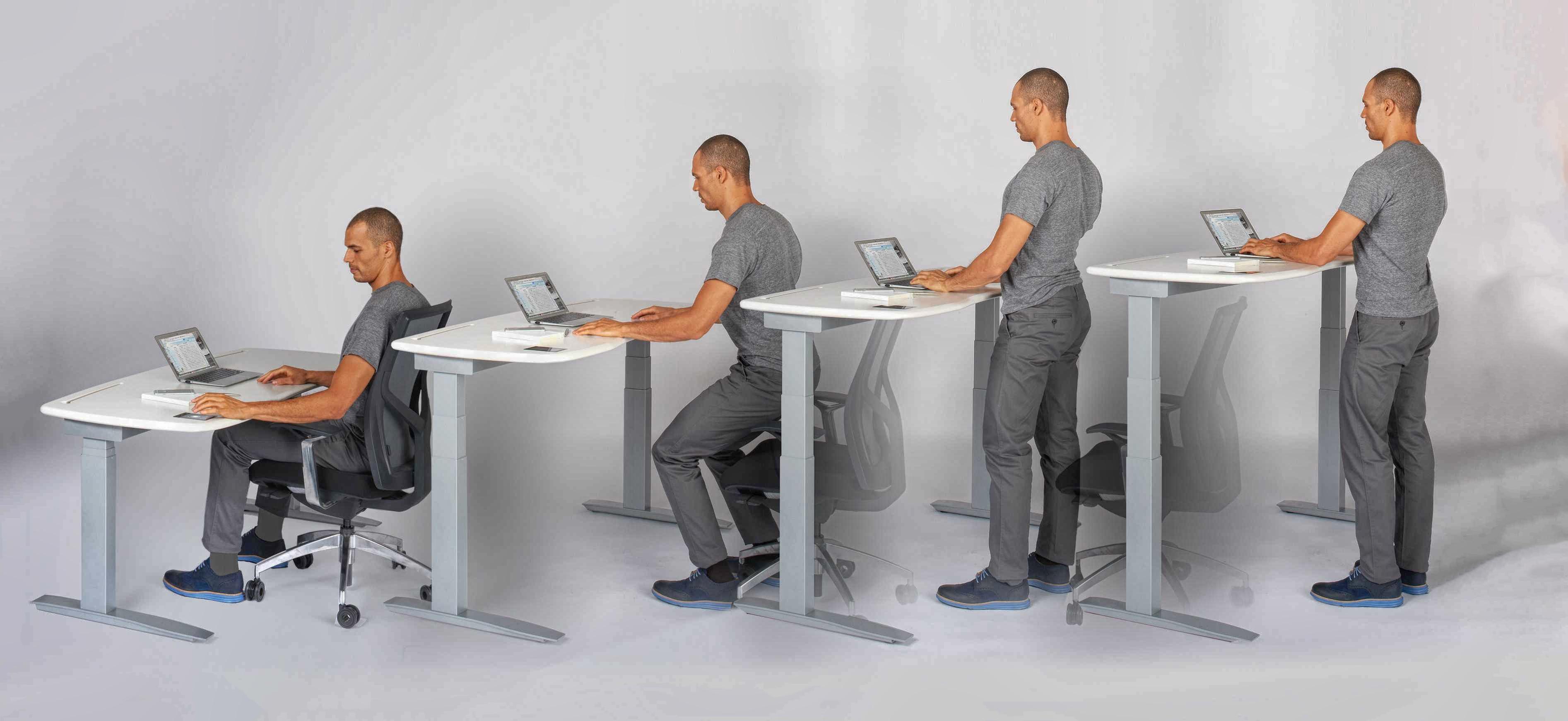 مزایای استفاده از میز اداری ایستاده