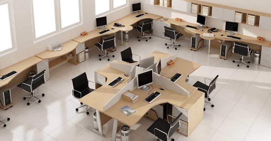 هفت چیدمان مؤثر مبلمان اداری در شرکت های کوچک (قسمت اول) | مبلمان اداری بنکو