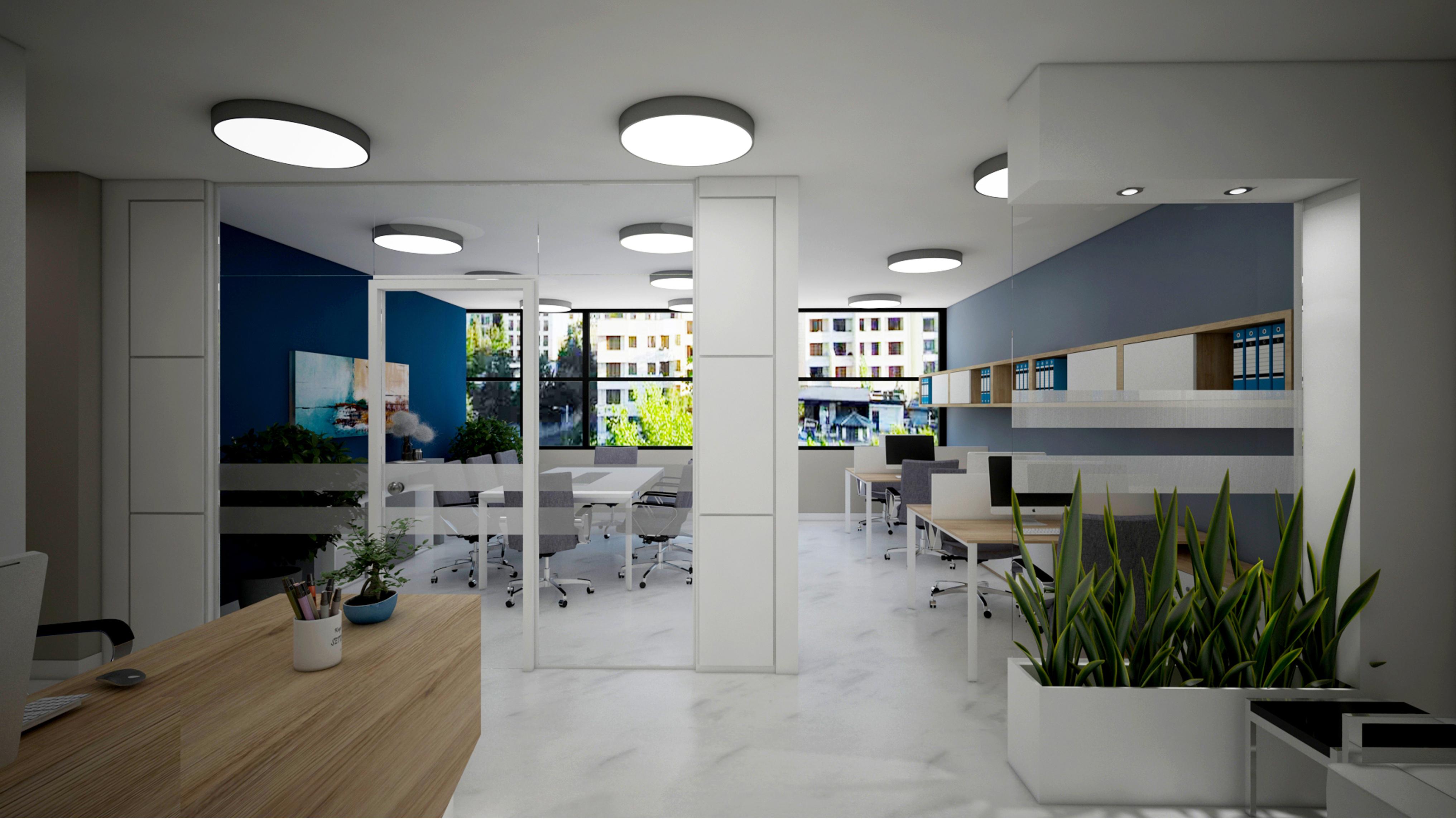 طراحی دفاتر کار یکپارچه یا Open Office