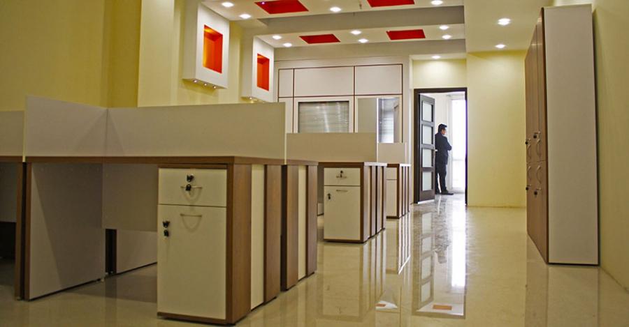 میز اداری در شرکت و در خانه | مبلمان اداری بنکو