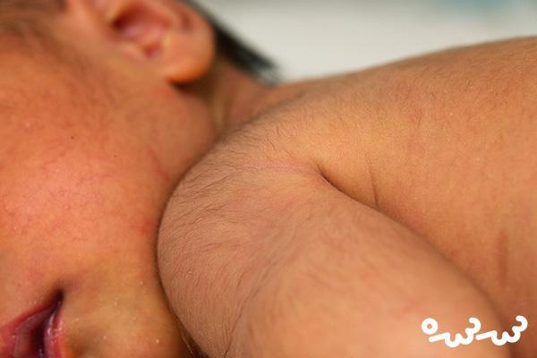 شش دانستنی جالب در مورد پوست نوزادان