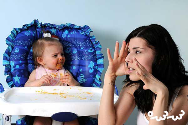 سوالات مادران در اینترنت