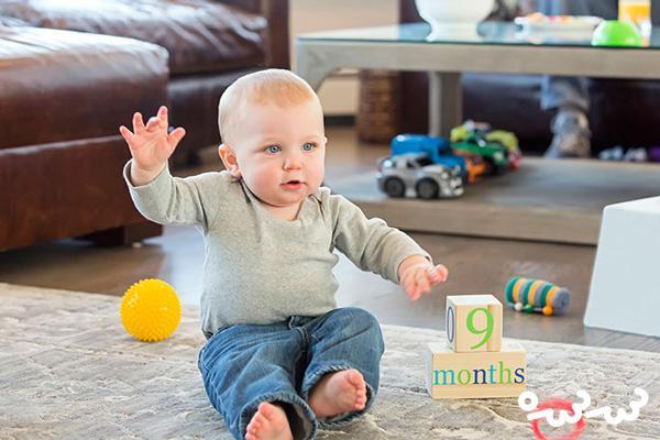 ۱۵ بازی ساده برای تعامل با کودکان ۹ الی ۱۲ ماهه