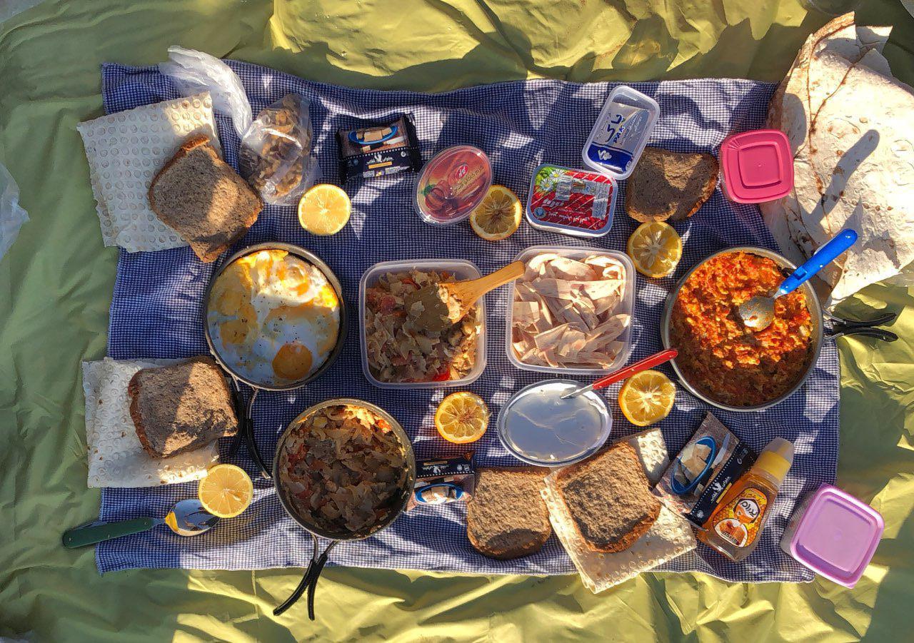 صبحانه مخصوص در مثلث برمودای ایران