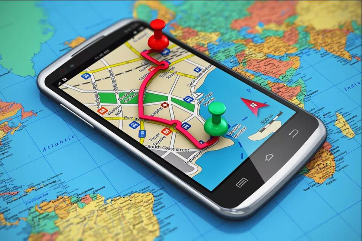 تو از کدوم مسیر میخواهی بری؟ - نقشه مپ