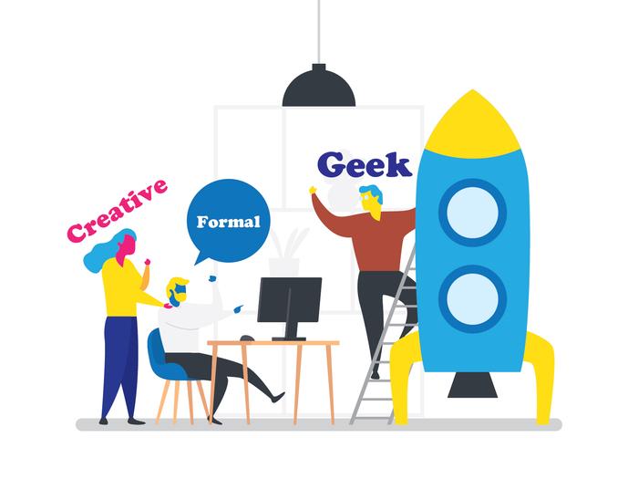 خلاق،محافظه کار یا گیک کدوم برنامه نویس برای کار شما مناسب است؟