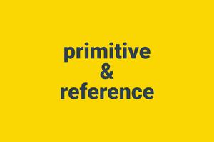 oop js- primitive & reference