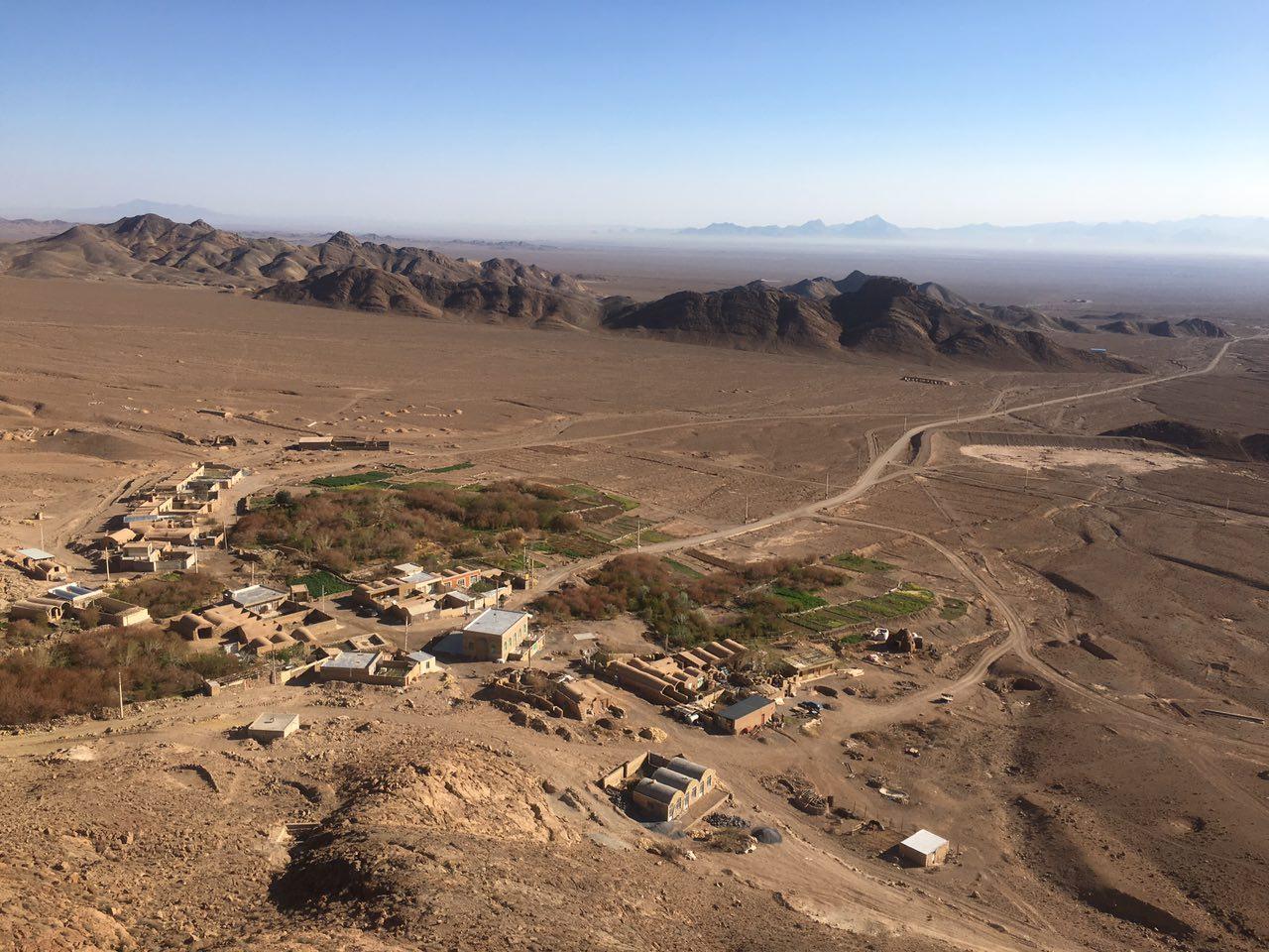 روستای مرور، بیست کیلومتری شهر میبد