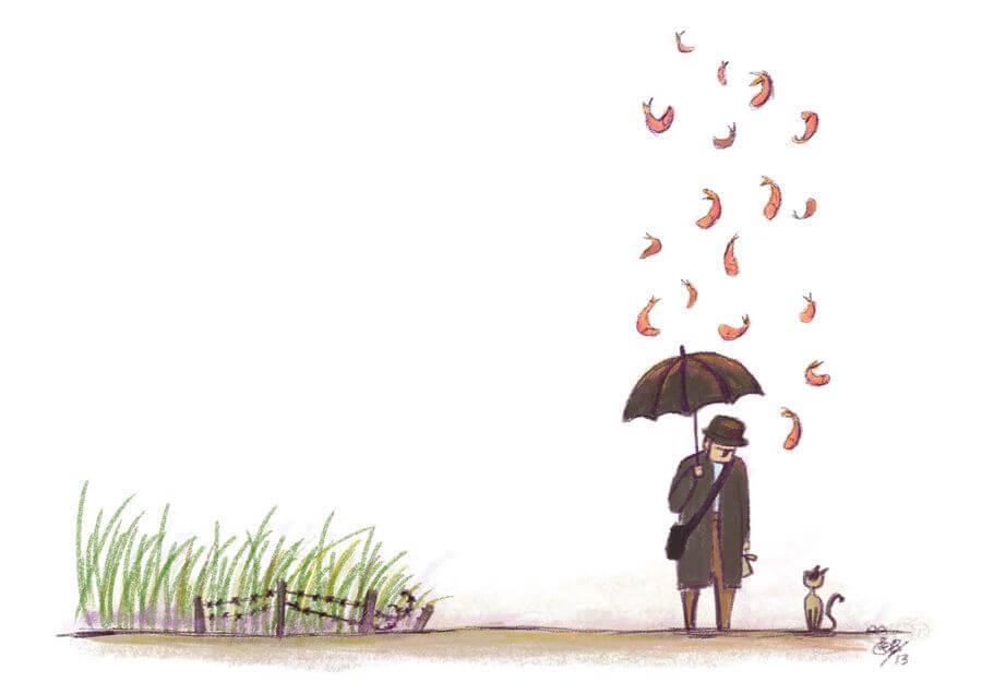 روزی که از آسمان ماهی بارید: درباره کافکا در کرانه اثر هاروکی موراکامی