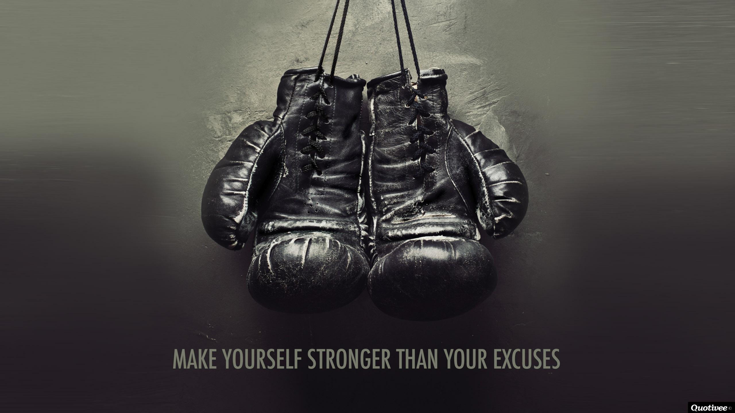 خودت رو قوی تر از بهانه هات کن!