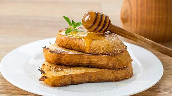 تشخیص عسل طبیعی از تقلبی با نان تست