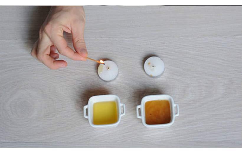 تشخیص عسل طبیعی از تقلبی با استفاده از کبریت
